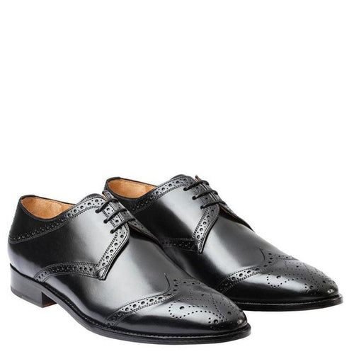 Wingcap Brogue Derby With Medallion