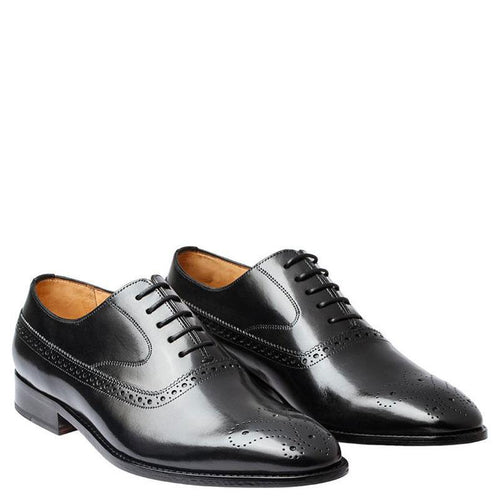 Brogue Oxford With Gimping & Medallion