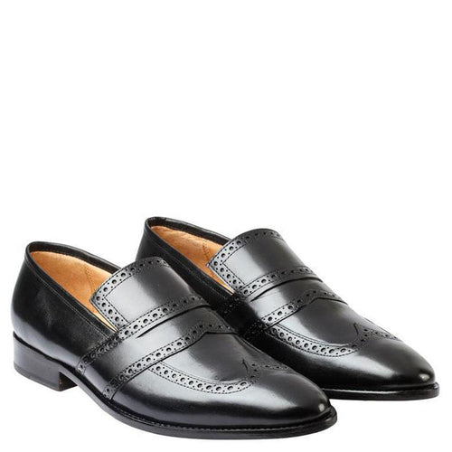 Wingcap Brogue Penny Loafer
