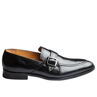 Slipon With Cord Stitch On The Vamp & With Ornamental Strap & Buckle