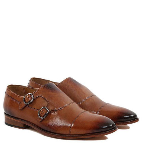 Toecap Double Strap Monk