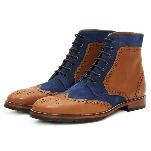 Lichfield Combination Brogue Boots