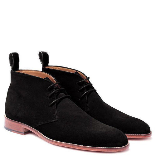 Knight & Bond Glastonbury Suede Chukka Boots