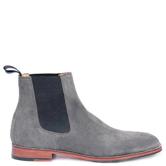Knight & Bond Wellington Dealer Boots in Suede
