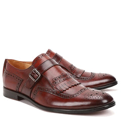 Spade Single-Strap Monk Shoes
