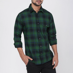 Pine Casual Check Shirt