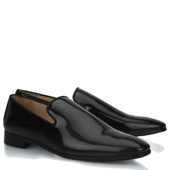 Astor Patent Loafer Shoes