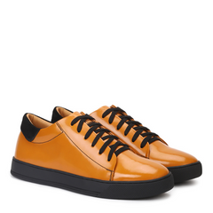 Fabio Low Top Leather Sneakers