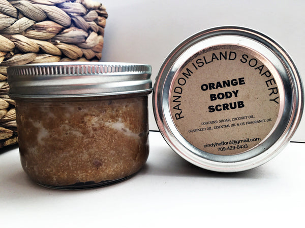 Orange Body Scrub