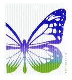 Butterfly Colored Swedish Dishcloth