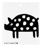 Piggy Swedish Dishcloth