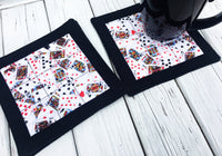 Set of 4 Quilted Coasters
