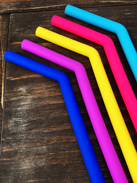 Curved Wide Straws