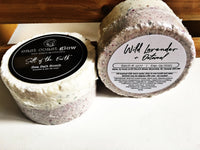 "Wild Lavender + Oatmeal | ""Salt of the Earth"" Sea Salt Bomb"