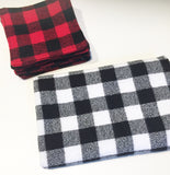 Plaid Reusable Makeup Pads