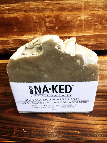 Dead Sea Mud + Argan Soap
