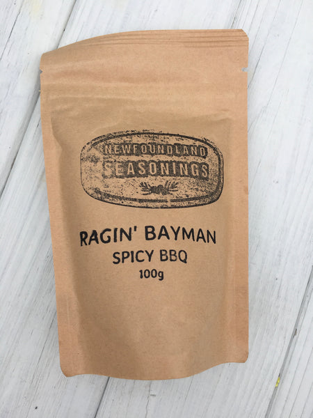 Raging Batman BBQ Spice