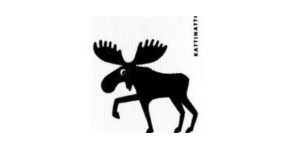 Moose Swedish Dishcloth