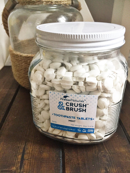 BULK CRUSH & BRUSH MINT TABLETS BULK