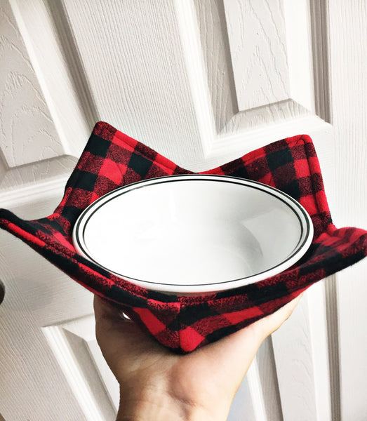 Red & Black Bowl Cozy