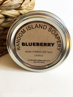 Blueberry Soy Wax Candle