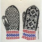 Mitten Swedish Dishcloth