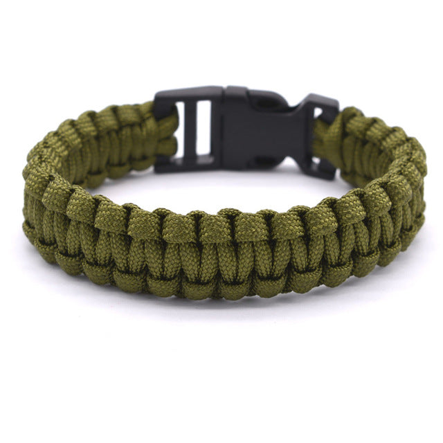 Army Paracord Bracelet - WOOD WEARERS