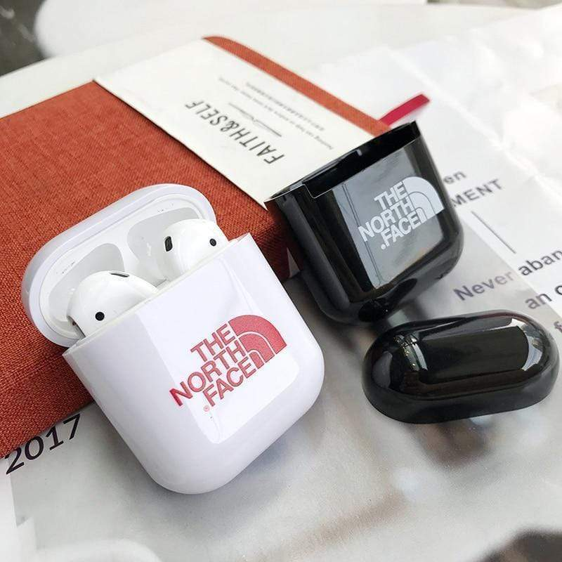 AirPods Case The North Face Style Glossy Hard Protective AirPods 1 & 2 Case