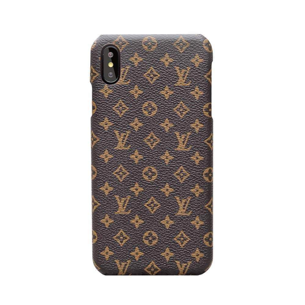 Iphone 11 10019-Brown / iPhone 6/6s Louis Vuitton iPhone case Brown 11 Pro Xs Max Xr 8 Plus Luxury cover