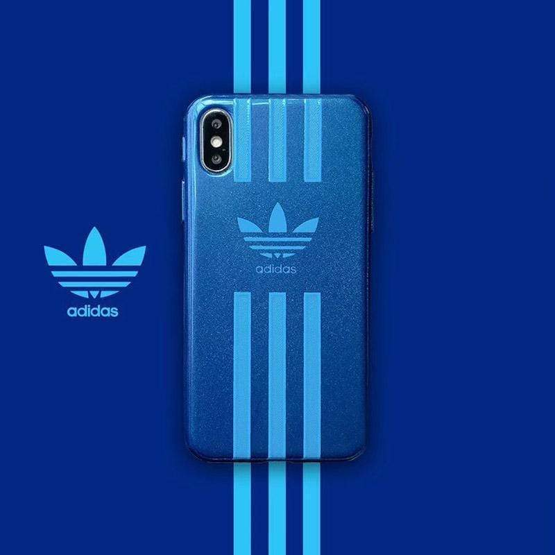 iPhone Case Adidas / iPhone XS Max Adidas Nike Style Matte Silicone Designer iPhone Case For iPhone X XS XS Max XR 7 8 Plus