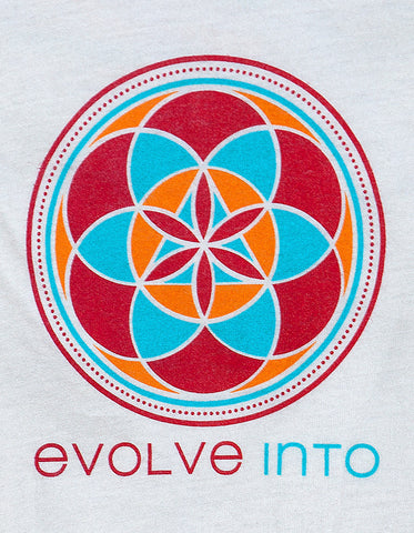 Evolve Into - Natural Organic Scoop Tee