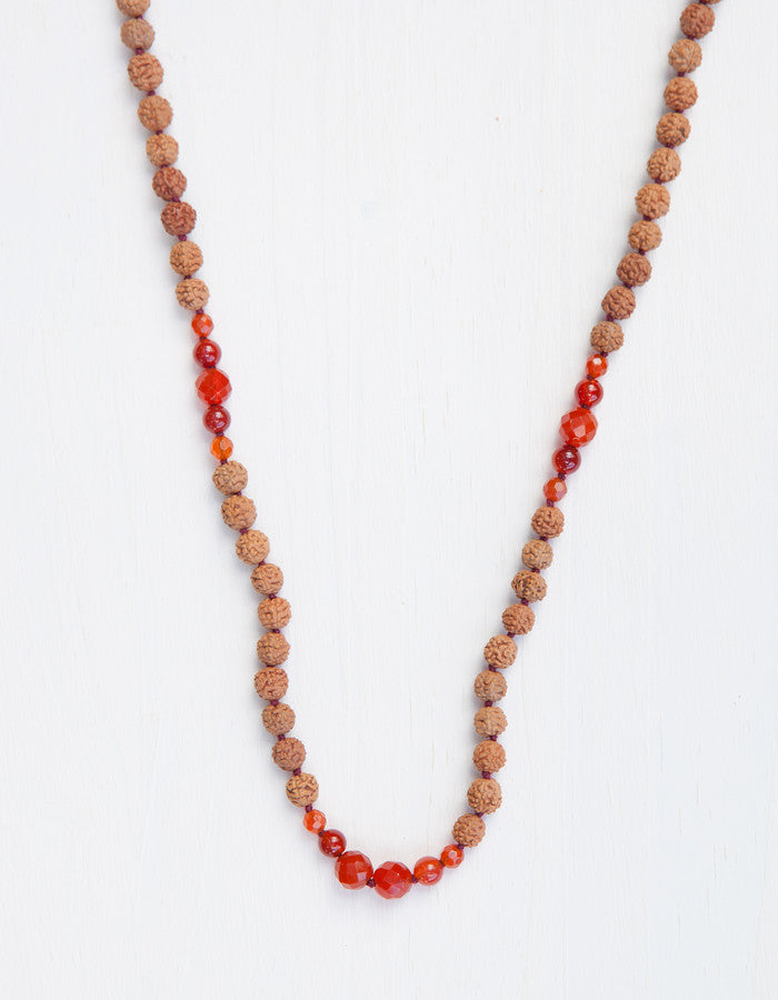 Evolve Into Happiness Mala