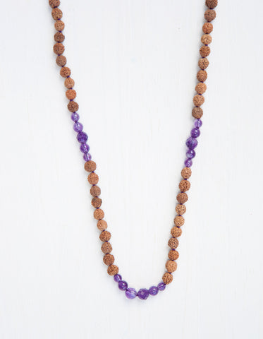 Evolve Into Peace Mala