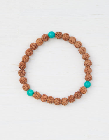 Evolve Into Love Mala Bracelet