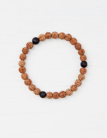 Evolve Into Strength Mala Bracelet