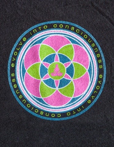 Evolve Into Consciousness - Organic Scoop Tee