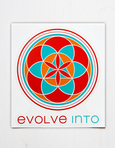 Evolve Into - Logo Decal
