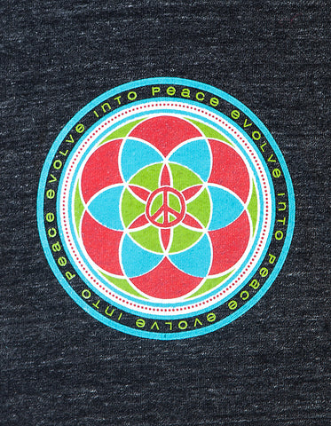 Evolve Into Peace - Crew Tee