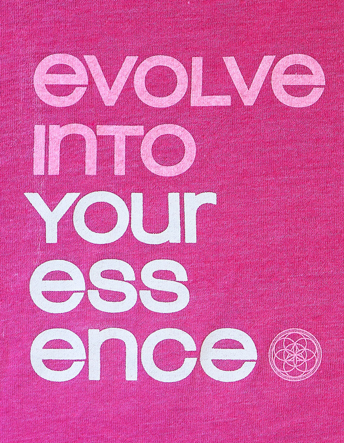 Evolve Into your Essence Mantra - Free Spirit Tee