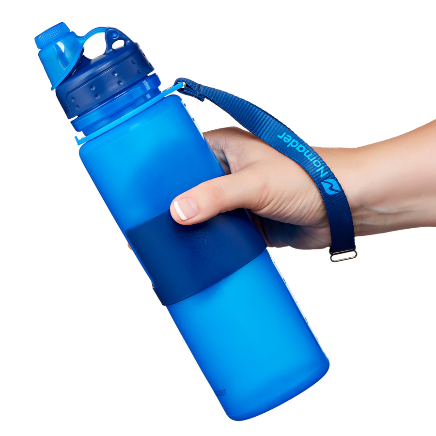 Nomader Collapsible Water Bottle (2-pack)