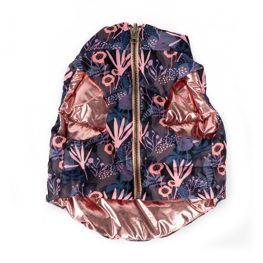 Lucy & Co. Enchanted Forest Reversible Puffer Vest
