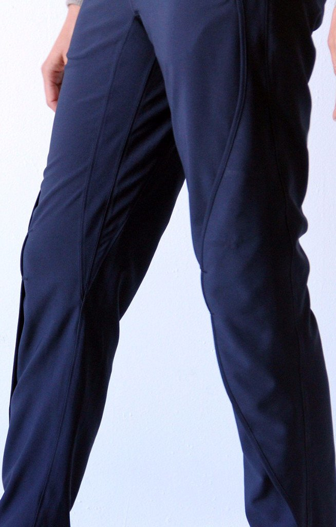 Paskho Purity – Meticulous Craftsmanship, Travel Pants Navy