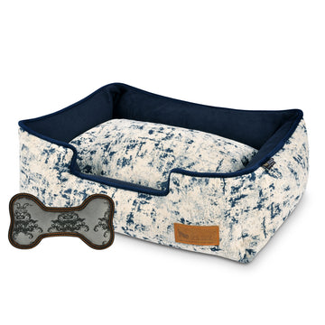 P.L.A.Y. Celestial Lounge Bed in Midnight Blue (Size L)