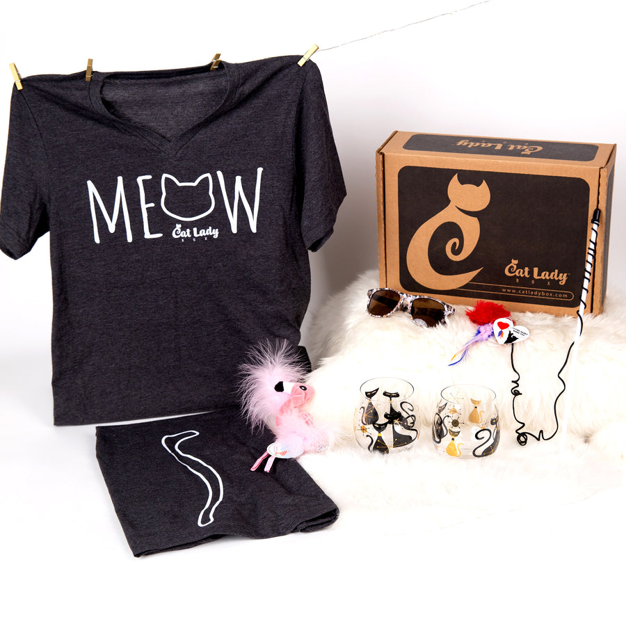 CatLadyBox So Major, Limited Edition Crazy Cat Lady Box