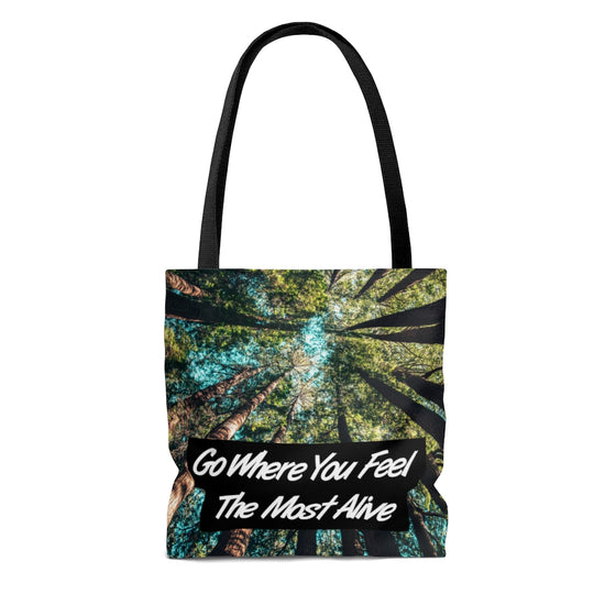 Most Alive Tote Bag
