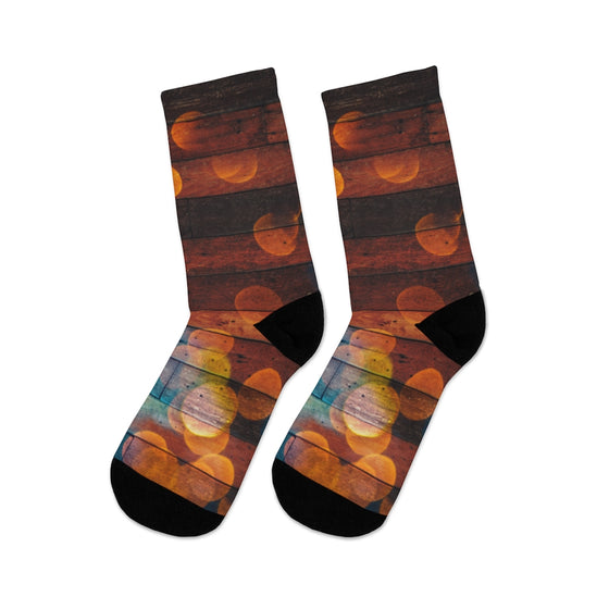 Bubbles Abstract Socks