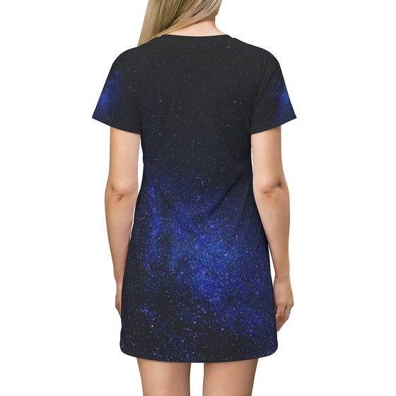 Milky Way Astronaut T-Shirt Dress