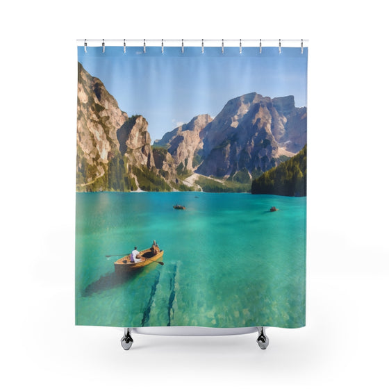 Italy Landscape Shower Curtains
