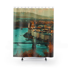 Budapest Shower Curtains