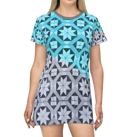Ornament T-Shirt Dress